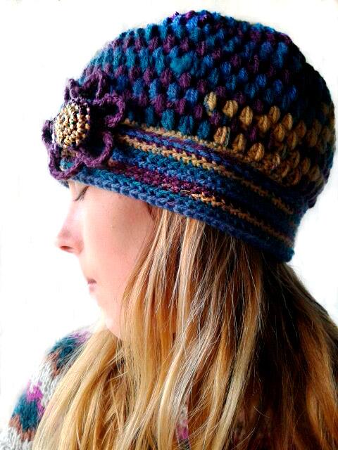 Los gorros de lana de mujer  un accesorio imprescindible para el invierno.  tejiendo lana 2 4149f064727