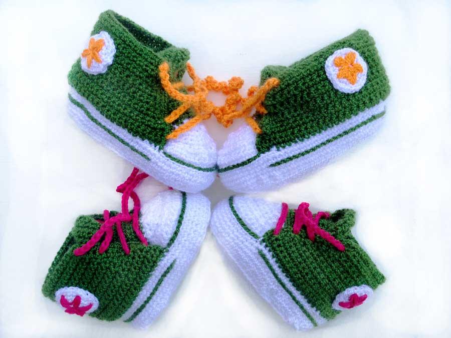 Compra zapatitos de crochet por encargo y personalizados c93e2e06de5