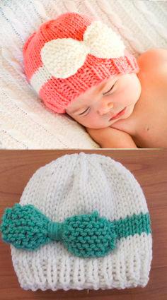 ¡Anímate! En Tricotonas puedes comprar gorros de crochet para bebes.