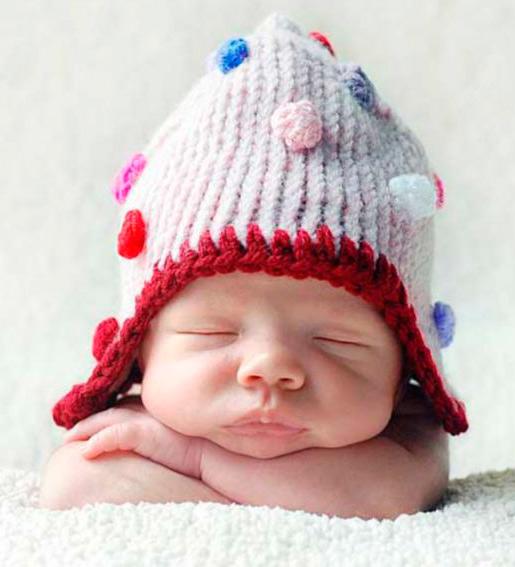 Recuerda que los gorros de lana para bebes a crochet deben ser