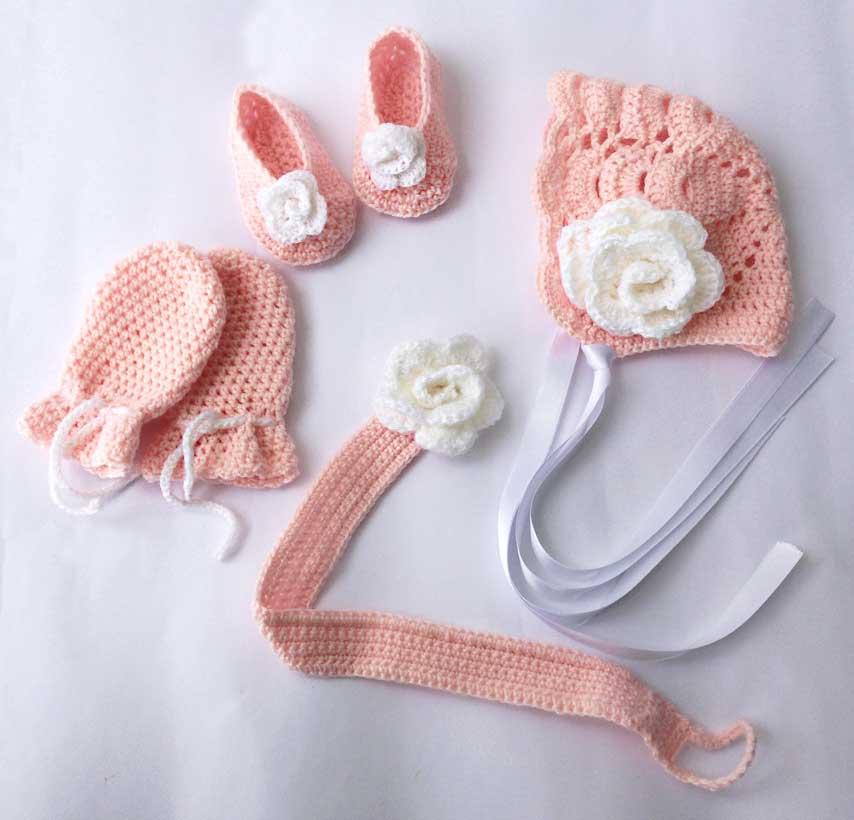 Hermosa Patrón Canastilla Recién Nacido Crochet Ornamento - Manta de ...