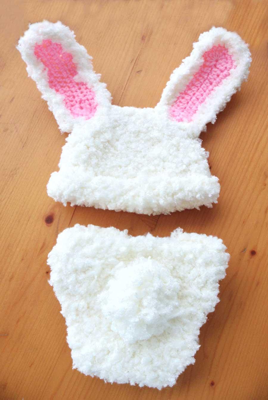 Gorro De Conejo A Crochet – Solo otra idea de imagen de decoración