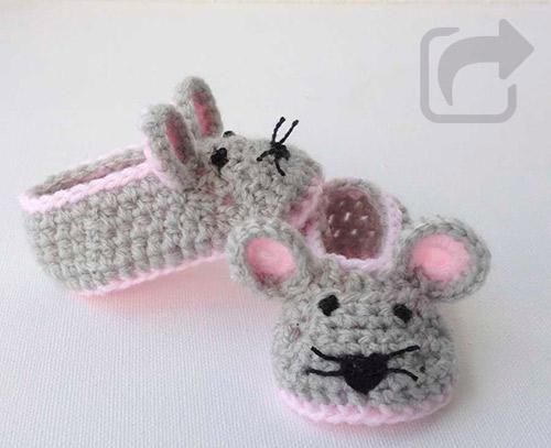 a82369009 Patucos bebé crochet