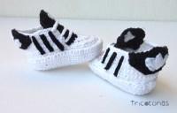 De Y Compra Encargo Personalizados Por Crochet Zapatitos 55rX6f
