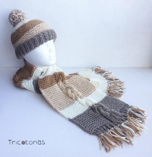 bufandas-personalizadas. Tricotonas b4f27e0c35f